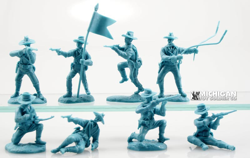 U.S. Cavalry Set #4 Dismounted
