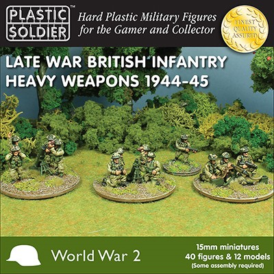 WWII Late War British Heavy Weapons - ONLY 1 AVAILABLE AT THIS PRICE