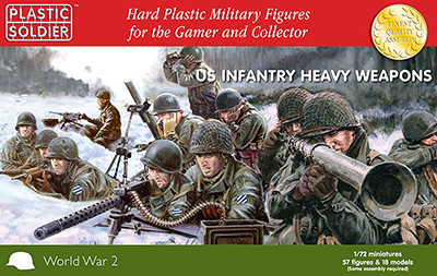 WWII US Infantry w/Heavy Weapons