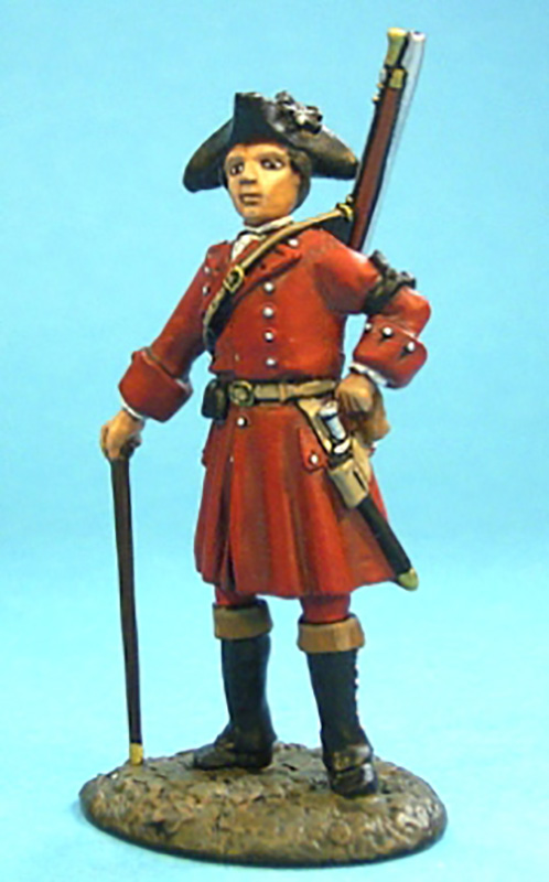 BATTLE ON THE PLAINS OF ABRAHAM 1759 - BRITISH GENERAL WOLFE #QB-01 - 1 AVAILABLE OOP