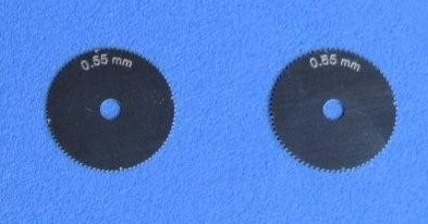 Optional Extra Wheels .55 & .65mm for Rivet-R Tool (2)