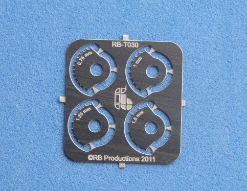 Corner Wheels .75, 1, 1.25, 1.5mm for Rivet-R Mini Tool