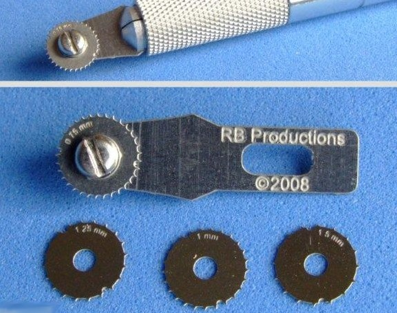 Rivet-R Mini Riveting Tool w/4 Scribing Wheels