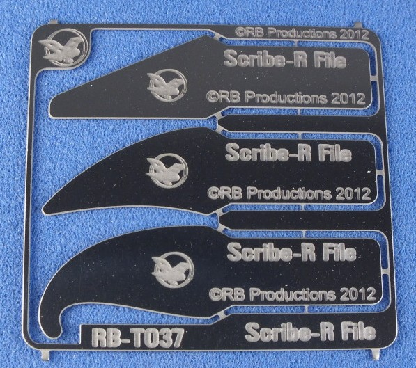 Scribe-R File Panel Engraving Tools: 3 different shapes