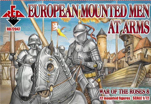 Wars of the Roses 8: European Mounted Men at Arms