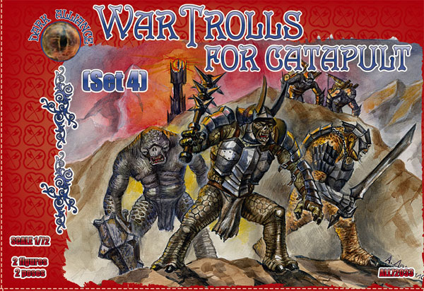 War Trolls Set 4