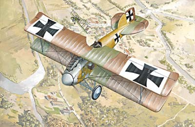 Albatros D II BiPlane Fighter