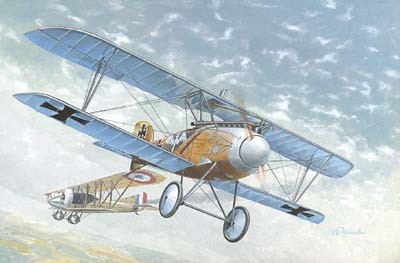 Albatros D III WWI German BiPlane Fighter