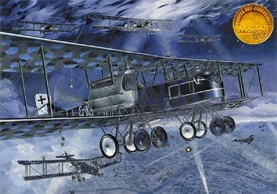 Gotha G V German Strategic BiPlane Bomber
