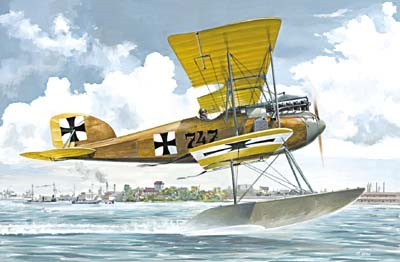 Albatros W IV (Early) German Fighter Floatplane