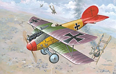 Albatros D V/D Va German BiPlane Fighter