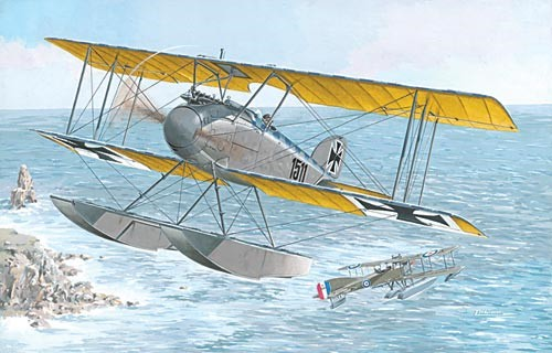 Albatros W IV (Late) German Fighter Floatplane