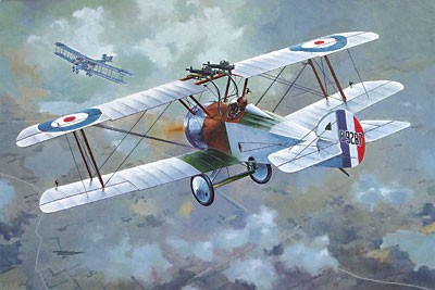 Sopwith F1/3 Comic Special Version WWII British BiPlane Fighter