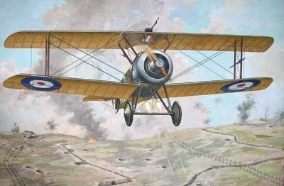 Sopwith TF1 Camel Trench RFC BiPlane Fighter