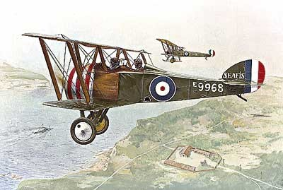 Sopwith F1 Camel 2-Seater Trainer RFC BiPlane