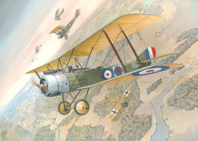 Sopwith 1-1/2 Strutter WWI British BiPlane Fighter