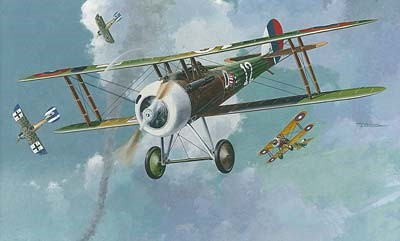 Nieuport 28c1 WWI French BiPlane Fighter