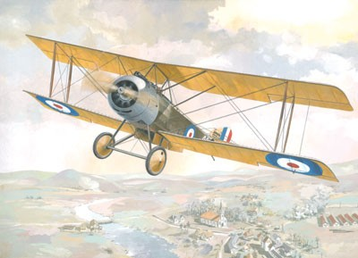 Sopwith 1-1/2 Strutter Single-Seater WWI British BiPlane Bomber