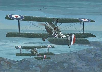 Sopwith 1-1/2 Strutter Comic RFC BiPlane Night Fighter