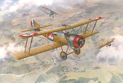Sopwith 1B1 WWI French BiPlane Bomber