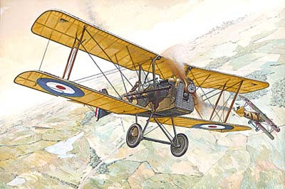 SE5a WWI RAF BiPlane Fighter