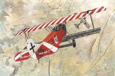 Fokker D VII (OAW Early) WWI German BiPlane Fighter