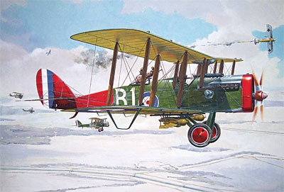 DeHavilland DH4 Eagle WWI US BiPlane Fighter