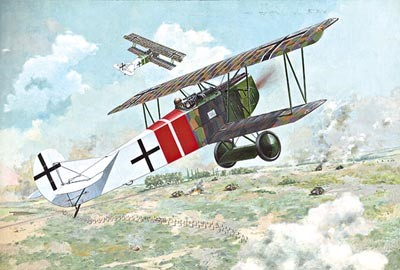 Fokker D VII (ALB Late) WWI German BiPlane Fighter