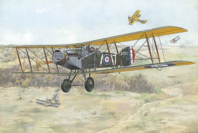 Bristol F2B WWI British BiPlane Fighter