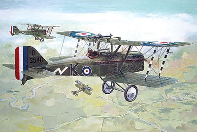 Se5a WWI RAF Fighter w/Hispano Suiza Engine
