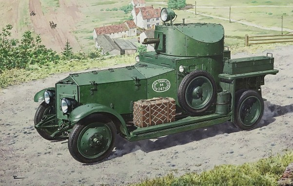 Pattern 1920 Mk I British Armored Car (New Tool)