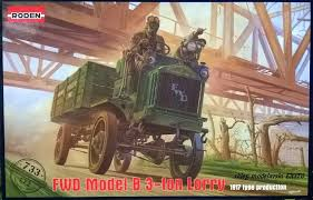 WWI FWD Model B 3-Ton Lorry US Army Truck