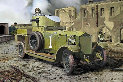 Pattern 1914 WWI British Armored Car