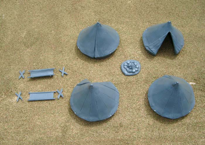 Renedra Bell Tents (4 plus accessories)