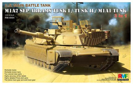 Abrams M1A1 TUSK, M1A2 SEP TUSK I, TUSK II 3 in 1 Combo kit