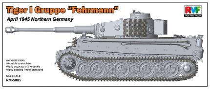 German Tiger I Gruppe Fehrmann April 1945