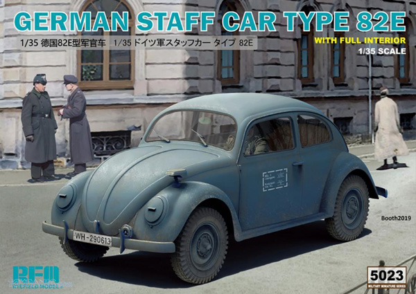 German Staff Car Type 82E with Full Interior