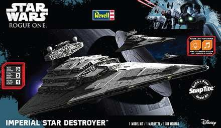 Star Wars Rogue One: Imperial Star Destroyer w/Sound (Build & Play Snap)