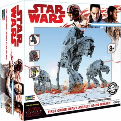 Star Wars The Last Jedi: First Order Heavy Assault AT-M6 Walker w/Sound (Build & Play Snap)