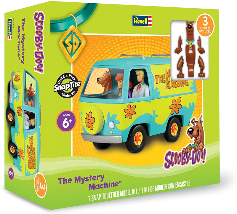 Scooby Doo The Mystery Machine with Figures (Snap)
