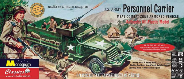 M3A1 US Army Armored Personnel Carrier (SSP)