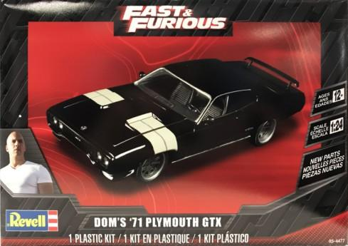 Fast & Furious Doms 1971 Plymouth GTX (2 in 1)