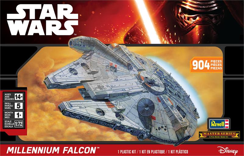 Star Wars Master Series Millennium Falcon 1:72