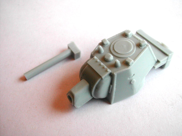 Russian Early KV-1 Turret for Meng Toons Tanks