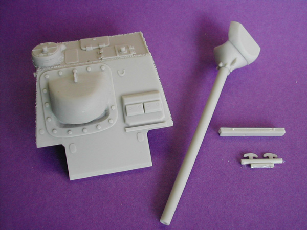 Russian SU-100 Conversion Kit for Meng Toons Tanks