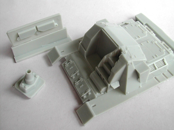 StuG III ausf.B Conversion Kit for Meng Toons Tanks
