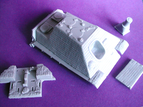 Jagdpanther (Early) Conversion Kit for Meng Toons Tanks