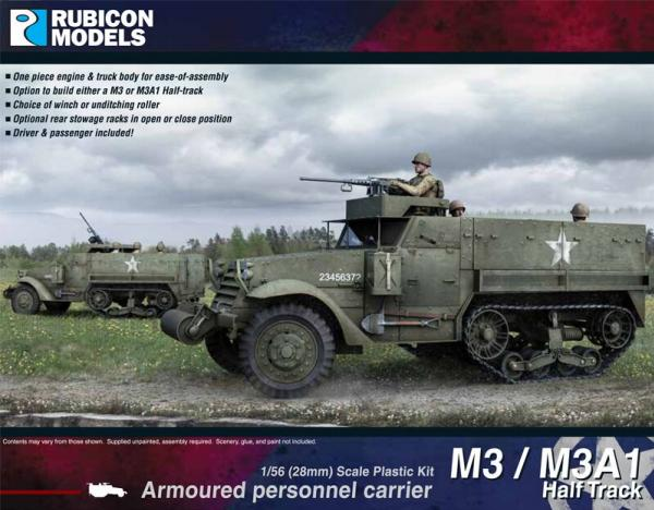WWII M3/M3A1 Half Track