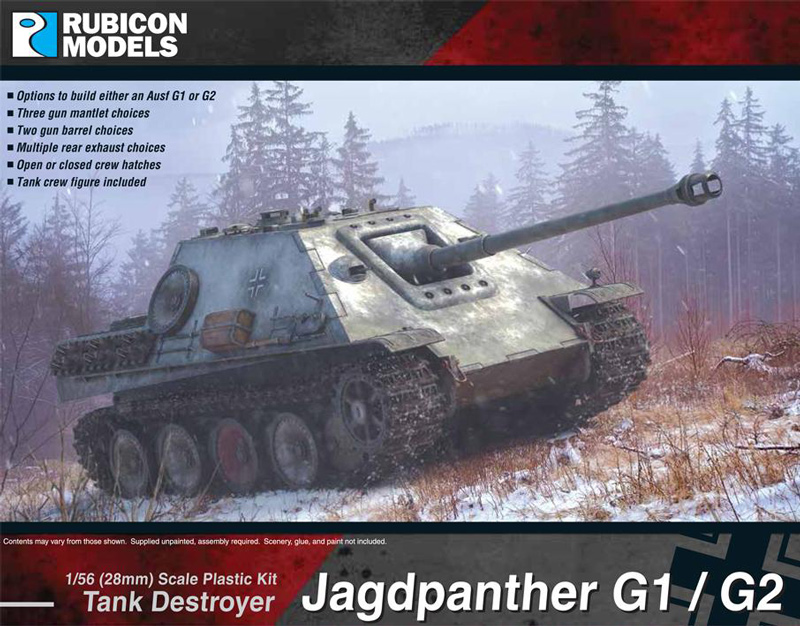 WWII German Jagdpanther G1/G2
