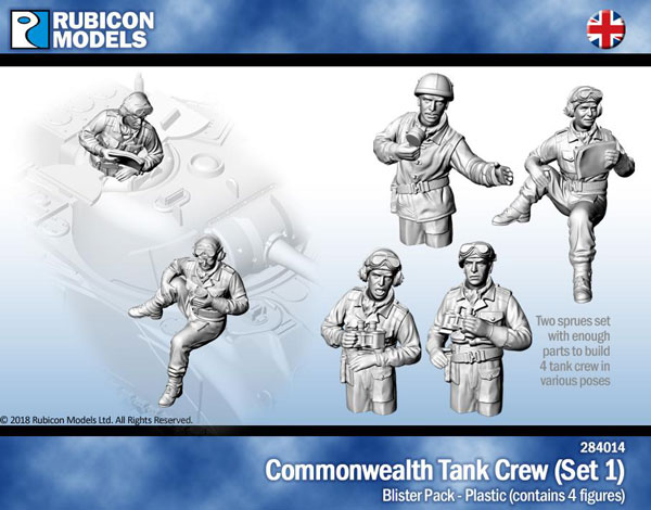 WWII Commonwealth Tank Crew